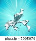世界地図から飛び出す日本地図 2005979