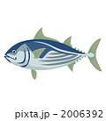 かつお カツオ 鰹のイラスト 2006392