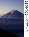 早朝の富士山 2014052