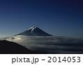 早朝の富士山と雲海 2014053