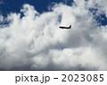 旅客機 ジェット機 乗り物の写真 2023085