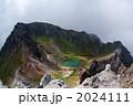 北アルプス焼岳火口湖 2024111