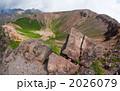 浄土平吾妻小富士の噴火口 2026079