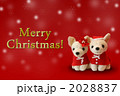 ぬいぐるみ メリークリスマス 縫いぐるみのイラスト 2028837