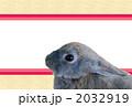 うさぎモダン(横) 2032919