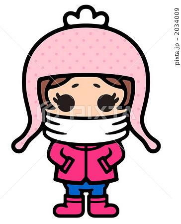 寒がる女の子 2034009