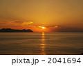 夕映え 若狭湾 自然の写真 2041694