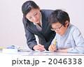 小学生 先生 勉強の写真 2046338