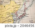 古地図 地図 日本の写真 2046456