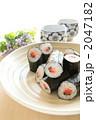 日本料理 巻き寿司 海苔巻きの写真 2047182