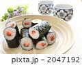 日本料理 巻き寿司 海苔巻きの写真 2047192