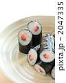 日本料理 巻き寿司 海苔巻きの写真 2047335