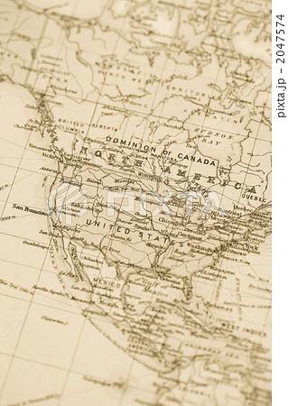 アメリカ 大陸 地図 北
