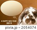 2011ロップイヤーラビット茶色 2054074