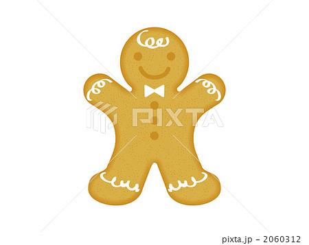クリスマスのジンジャーマンクッキー 2060312