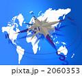 コンパスと世界地図 2060353