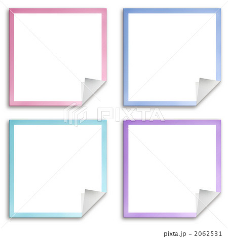 タック 付箋紙 フレームのイラスト素材 2062531 Pixta