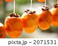 干し柿 干柿 渋柿の写真 2071531