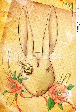 椿とウサギ 2075458