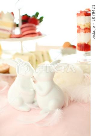 うさぎ パーティ デザートの写真素材 [2079421] - PIXTA