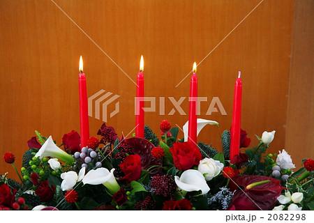 アドベント(待降節)3週目 キリスト教会のクリスマス装飾 2082298