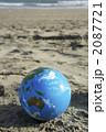 砂浜の地球o 2087721