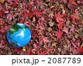 紅葉と地球b 2087789