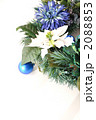 青系のクリスマスリース 2088853