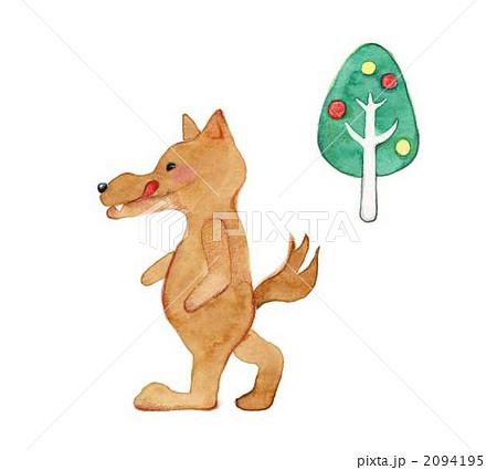 狼 イラスト 簡単 壁紙イラストキャラクター 最高の