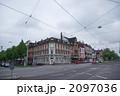 町並み 街角 交差点の写真 2097036