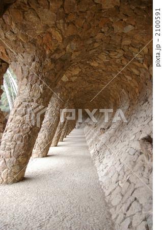 グエル公園の回廊 2100591