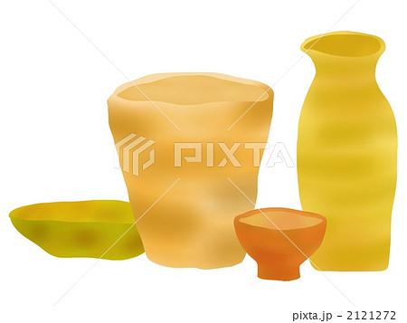 陶器のイラスト素材 2121272 Pixta