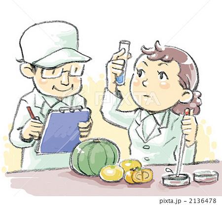 食の安全のイラスト素材 [213647...