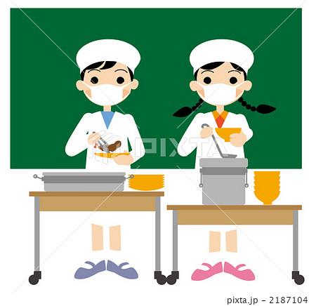 小学校の給食当番 2187104