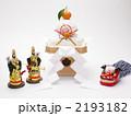 門松 餅 正月飾りの写真 2193182