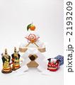 門松 餅 正月飾りの写真 2193209