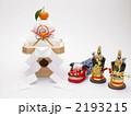 門松 餅 正月飾りの写真 2193215