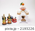 門松 餅 正月飾りの写真 2193226