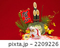 門松 辰 正月飾りの写真 2209226