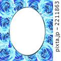 薔薇のフレーム 2211863