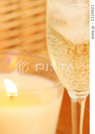 キャンドル ワイングラス 2220021