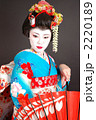 舞妓 和装 和服の写真 2220189