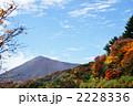 秋の空と紅葉 吾妻子富士 2228336