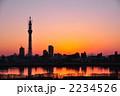 ランドマーク 東京スカイツリー 夕焼けの写真 2234526