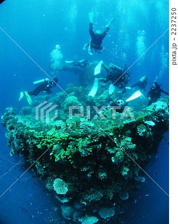 日本軍 沈没船 ダイビング 富士川丸 タイタニック撮影地 沈潜 レックダイブ チューク諸島 2237250