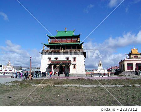 モンゴル国ウランバートル市ガンダン寺 2237312