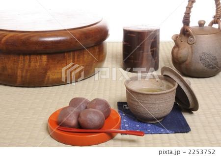 団子と日本茶の写真素材 [2253752] - PIXTA