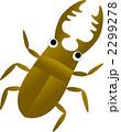クワガタムシ くわがた虫 くわがたのイラスト 2299278