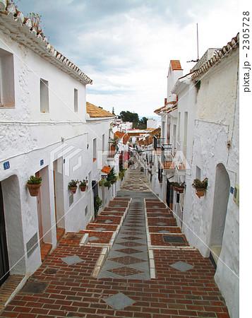 スペイン 白い村ミハスの写真素材 [2305728] - PIXTA