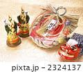 正月飾り お飾り しめ飾りの写真 2324137